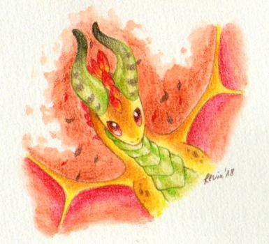 Little Yellow Dragon by LeviaDraconia