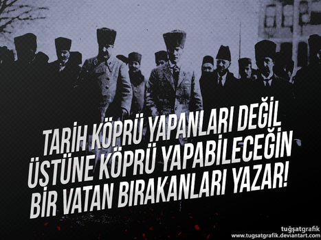Ataturk Wallpaper #2 by tugsatgrafik