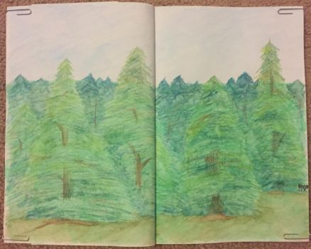 Forest by grenouille-rousse