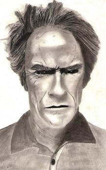 CLINT EASTWOOD by anoop4334