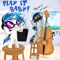 Commission: Play it baby! by OMGProductions