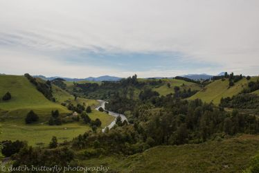 Landscapes - Piriaka Lookout by Queen---of---Spades