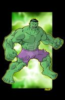 THE INCREDIBLE HULK by Chadfuller
