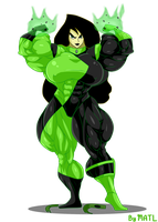 Commission - Shego 2 by MATL
