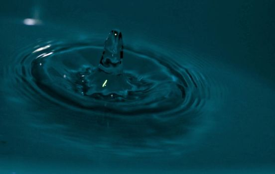 Bullet in the water by EscoN