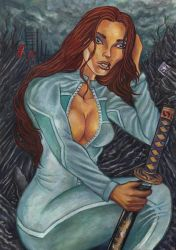 Colleen Wing by Steff00