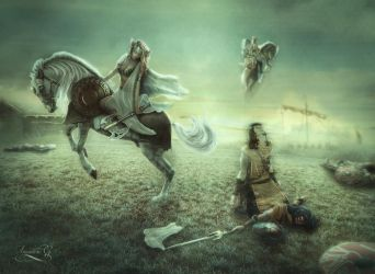 The harvest of the Valkyries by Amaranta-G