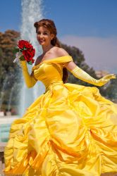 Belle's Warm Smile by Firefly-Path