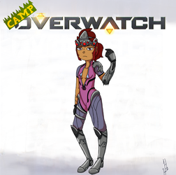 Camp Overwatch: Gwen by DragonWorlock