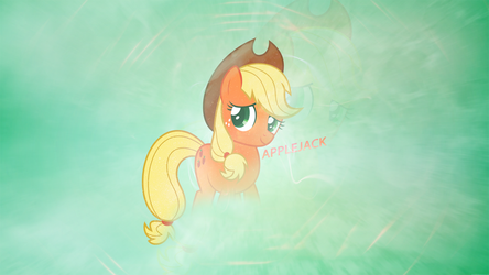 Sincere | AppleJack Wallpaper | 1440x2560 by ToChaseDawn