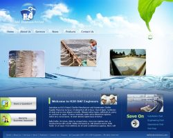 Web Template - H20 DAF Er by manicolorz