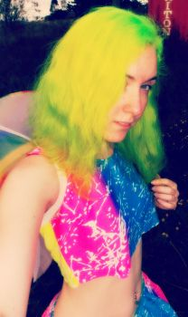 Fluoro Fairy 10 by monstatofu2011