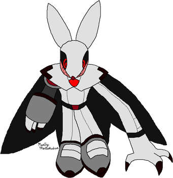 White Rabbit Adult State (Digimon Re: Story) by Chronicle-King