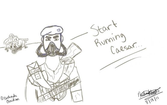 Now's the Time to Run Caesar by MrFalloutDropout