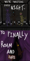 Five night's at Freddy's by JabberwockPrince