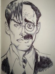 TOGETHER AGAIN (DYLAN DOG/GROUCHO) by AgostinoF