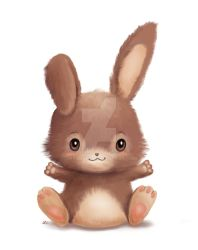 Little Bunny by LMColver