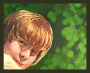 josh in oils by hollietree
