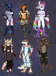 SPACE FURRIES 2000 [ 3 IS LEFT ] by Q-beam