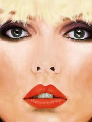 Deborah Harry Illustration by Paloma182