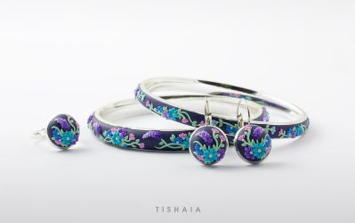 Applique flowers by tishaia