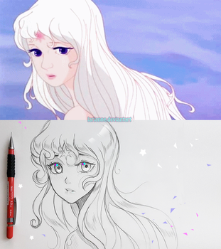 +Lady Amalthea+ by larienne