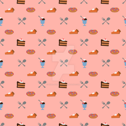 Sweets!  Textile design by null-painter