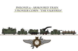 Pheonix 6 - Armoured Train by Leadmill
