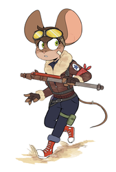 Pilot Mouse by Beezii11