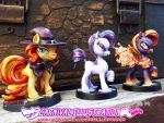 Pony Minis Paint: First Batch! by carnival