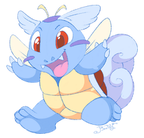 Crazy Wartortle by Bestary