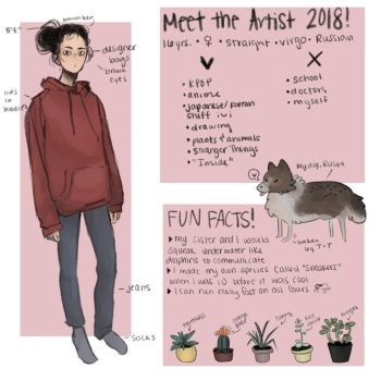 Meet the Artist 2018! by KatyaHam