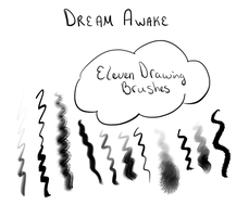 Dream Awake Painting Brushes by desperatedeceit