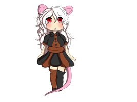 Lil Mouse Girl by Shady-Dayz