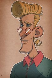 Egon Spengler - The Real Ghostbusters by Zatransis