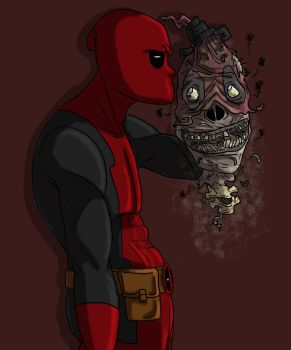 It's me, Deadpool by DitaDiPolvere
