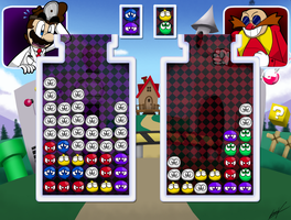 Dr. Mario VS Dr. Robotnik: Mean Bean Mania. by GSVProductions
