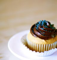 peanut butter cupcake by bohbons