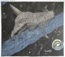 Inktober Canis Major constellation drawing by Justyn16
