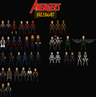 Avengers: Breakout (Earth-1) by Nova20X