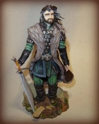 The Hobbit: Thorin Oakenshield by Fairiesworkshop