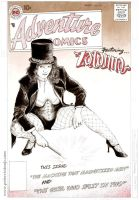 ZATANNA makes her first appearance by greendalek