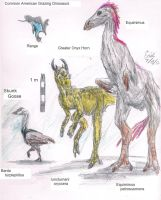 American Grazing Dinosaurs by Lord-Triceratops