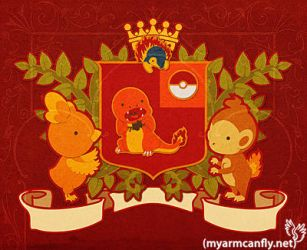 Fire Starter Coat of Arms by myarmcanfly