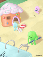 Tiny Candy Creatures by Luctekz