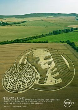 ET Message Crop Circle Personal Study. by R71