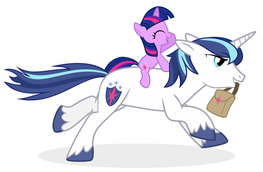Twily's late for school! by The-Smiling-Pony