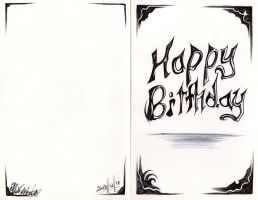 Birthday card design 3 by Antervantei