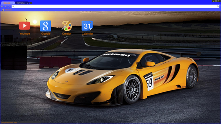 McLaren MP4-12C GT3 - Chrome Theme 2.0 by secretxax