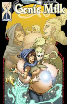Genie Milk - Magical Impregnation by expansion-fan-comics